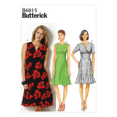 Butterick Misses' Dress Pattern B6015 Size B50