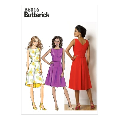 Butterick Misses' Dress Pattern B6016 Size A50