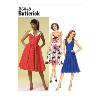 Butterick Misses' Dress Pattern B6049 Size A50