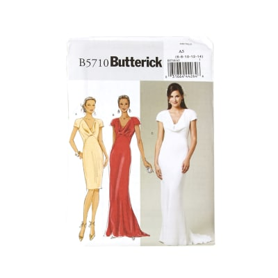 Butterick Misses' Dress Pattern B5710 Size A50