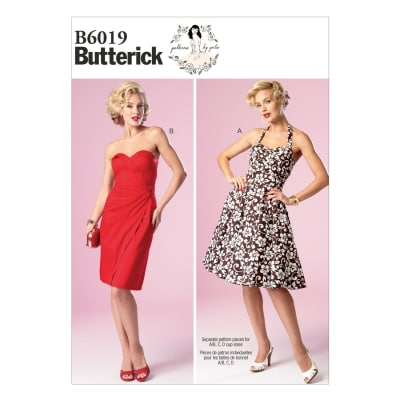 Butterick Misses' Dress Pattern B6019 Size AX5
