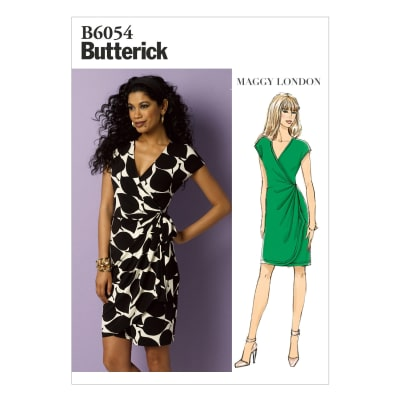Butterick Misses' Dress Pattern B6054 Size A50