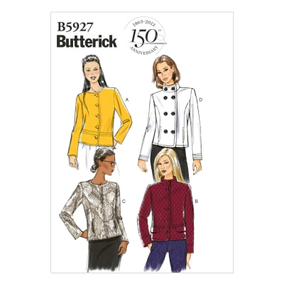Butterick Misses' Jacket Pattern B5927 Size A50