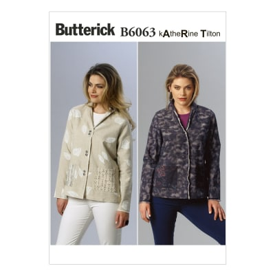 Butterick Misses' Jacket Pattern B6063 Size B50