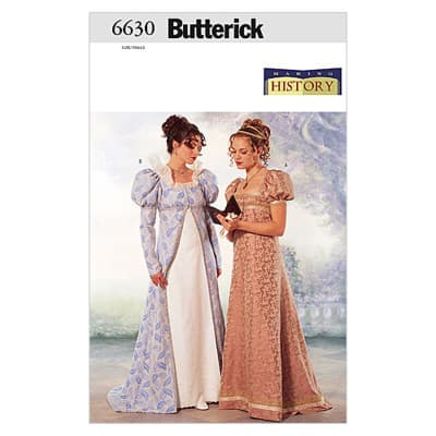 Butterick Misses'/Misses' Petite Coat & Dress Pattern B6630 Size 060