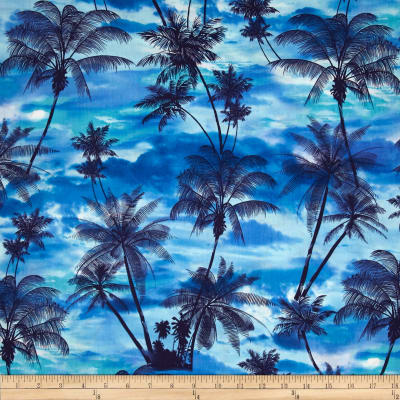 Kanvas Ocean Ave II Tropical Sunset Blue