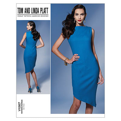 Vogue Misses' Dress Pattern V1267 Size B50