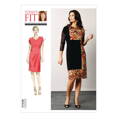 Vogue Misses' Dress Pattern V1336 Size OSZ