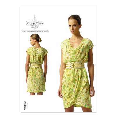 Vogue Misses' Dress Pattern V1343 Size B50