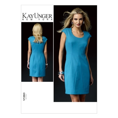 Vogue Misses' Dress Pattern V1360 Size B50