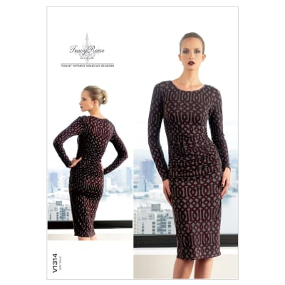 Vogue Misses' Dress Pattern V1314 Size A50