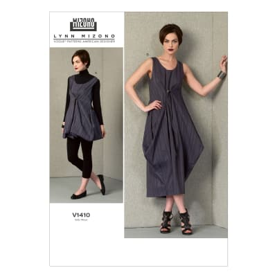 Vogue Misses' Dress Pattern V1410 Size A50