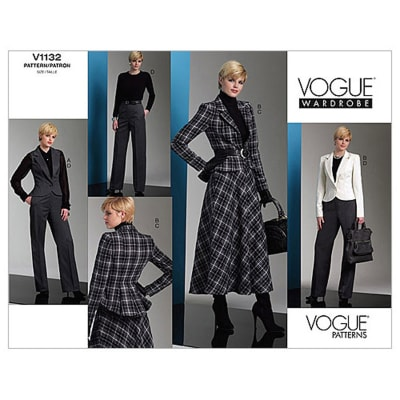 Vogue Misses' Jacket, Skirt And Pants Pattern V1132 Size BB0