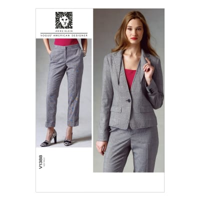 Vogue Misses' Jacket and Pants Pattern V1388 Size B50