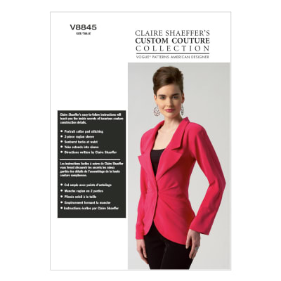 Vogue Misses' Jacket Pattern V8845 Size A50
