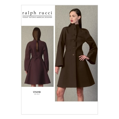 Vogue Misses' Coat Pattern V1419 Size A50
