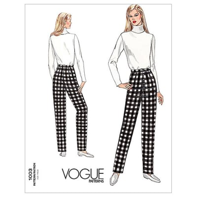 Vogue Misses' Fitting Shell Pattern V1003 Size 080