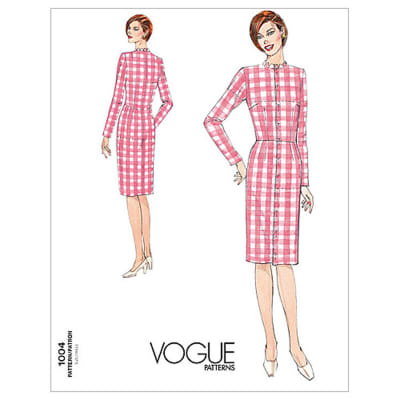 Vogue Misses' Fitting Shell Pattern V1004 Size 080