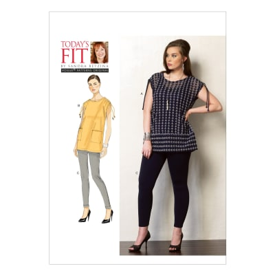 Vogue Misses' Tunic and Leggings Pattern V1376 Size OSZ