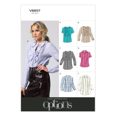 Vogue Misses' Blouse and Tunic Pattern V8857 Size B50