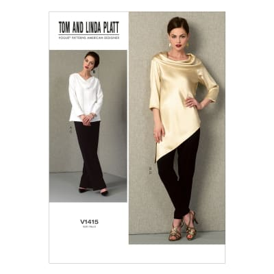 Vogue Misses' Tunic and Pants Pattern V1415 Size B50