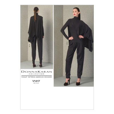 Vogue Misses' Top and Pants Pattern V1417 Size A50