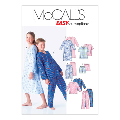McCall's M6227 Boys'/Girls' Shirt, Tops, Shorts and Pants Pattern CHH (Sizes 7-8-10-12)