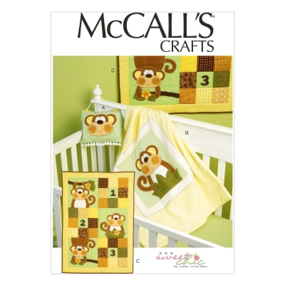 McCall's Door Hanging, Blanket and Quilt Pattern M6939 Size OSZ