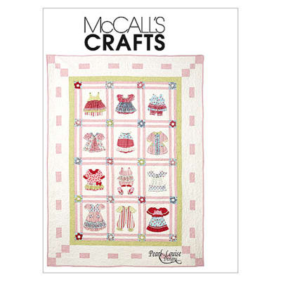 McCall's Dimensional Quilt Pattern M6412 Size OSZ