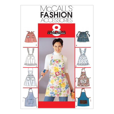 McCall's M2947 Misses' Aprons Pattern OSZ (One Size)