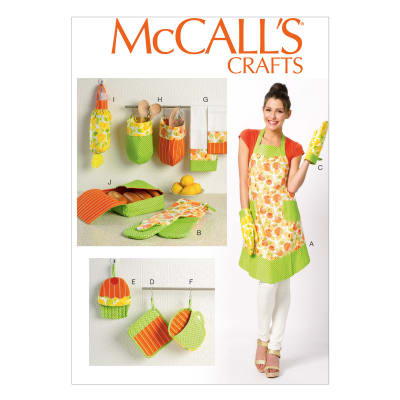 McCall's Apron and Kitchen Accessories Pattern M6978 Size OSZ