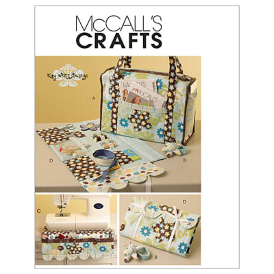 McCall's Project Tote, Organizer, Pin Cushion and Machine Apron Pattern M5871 Size OSZ