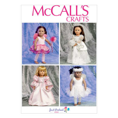 "McCall's Clothes and Accessories For 18"" Doll Pattern M6981 Size OSZ"