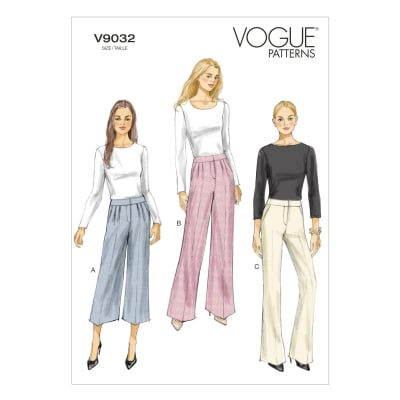 Vogue Misses' Pants Pattern V9032 Size A50