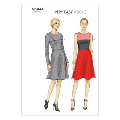 Vogue Misses'/Misses' Petite Dress Pattern V8944 Size A50