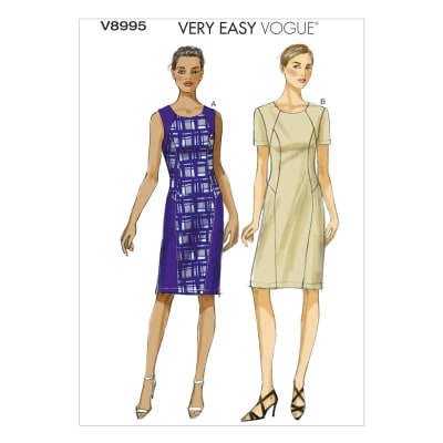 Vogue Misses' Dress Pattern V8995 Size B50
