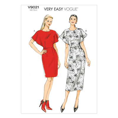 Vogue Misses' Dress Pattern V9021 Size A50