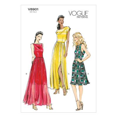 Vogue Misses' Dress Pattern V8901 Size A50