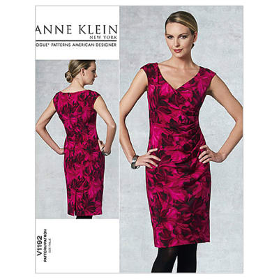 Vogue Misses' Dress Pattern V1192 Size BB0