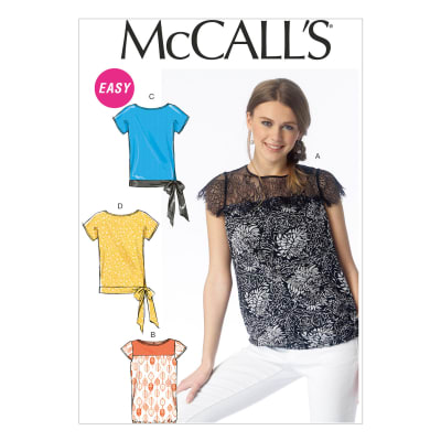 McCall's Misses' Tops Pattern M6926 Size A50