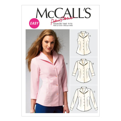 McCall's Misses' Shirts Pattern M6750 Size B50