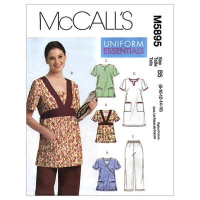 McCall's Misses'/Women's Tops, Dress and Pants Pattern M5895 Size B50