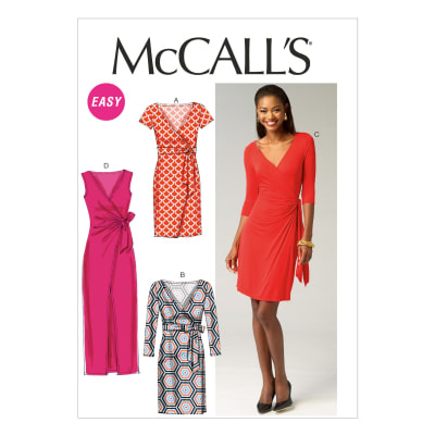 McCall's Misses' Dresses Pattern M6884 Size A50