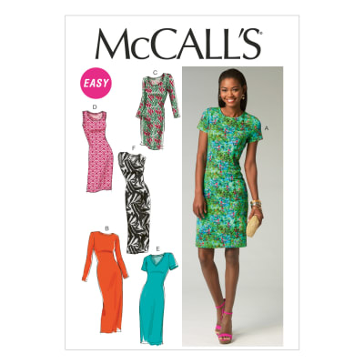 McCall's M6886 Misses' Dresses Pattern A5 (Sizes 6-14)