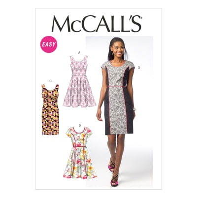 McCall's Misses' Dresses Pattern M6887 Size A50
