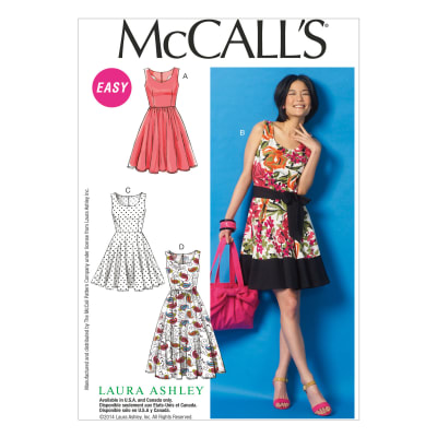 McCall's Misses' Dresses and Belt Pattern M6955 Size A50