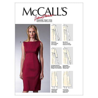 McCall's Misses' Dresses Pattern M6464 Size B50