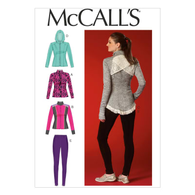 McCall's Misses' Jackets and Leggings Pattern M7026 Size A50