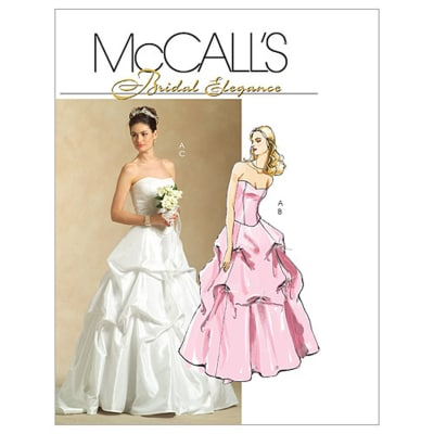 McCall's Misses' Lined Top and Skirts Pattern M5321 Size AA0