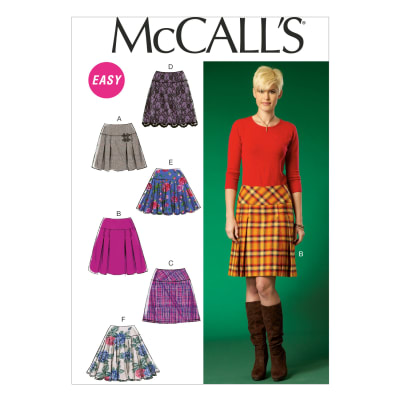 McCall's Misses' Skirts Pattern M7022 Size A50